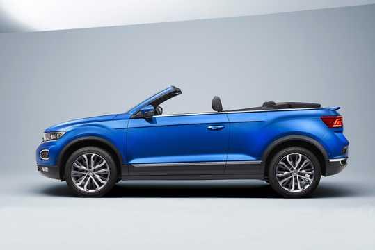Side  of Volkswagen T-Roc Cabriolet 2020