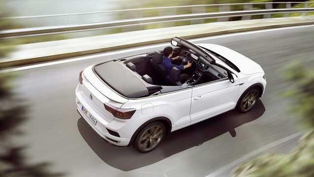 Bak/Sida av Volkswagen T-Roc Cabriolet 2020