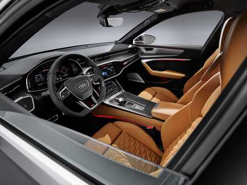 Interior of Audi RS 6 Avant  TipTronic, 600hp, 2020