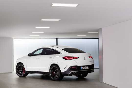 Back/Side of Mercedes-Benz AMG GLE 53 4MATIC+ Coupé  9G-Tronic, 435hp, 2020