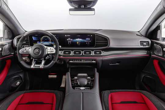 Interior of Mercedes-Benz AMG GLE 53 4MATIC+ Coupé  9G-Tronic, 435hp, 2020