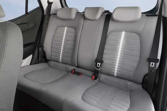 Interior of Hyundai i10 2020