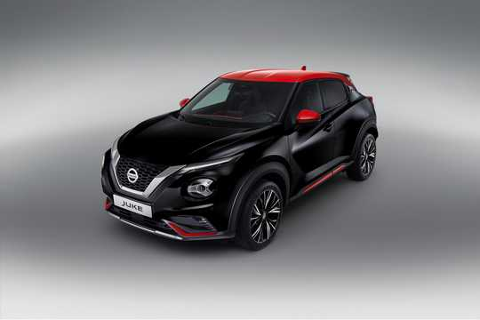 Front/Side  of Nissan Juke 2020