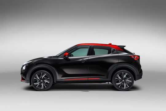 Side  of Nissan Juke 2020