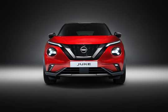 Front  of Nissan Juke 2020