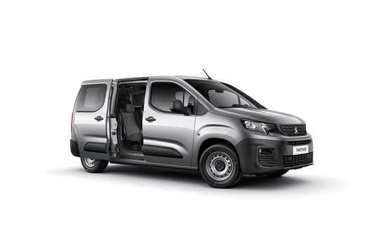 Front/Side  of Peugeot Partner 3rd Generation