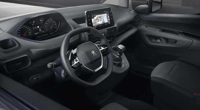Interior of Peugeot Partner Van 3rd Generation