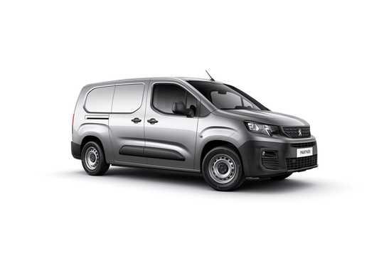 Front/Side  of Peugeot Partner Van 3rd Generation