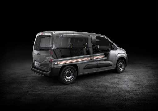 Back/Side of Peugeot Partner Van 3rd Generation