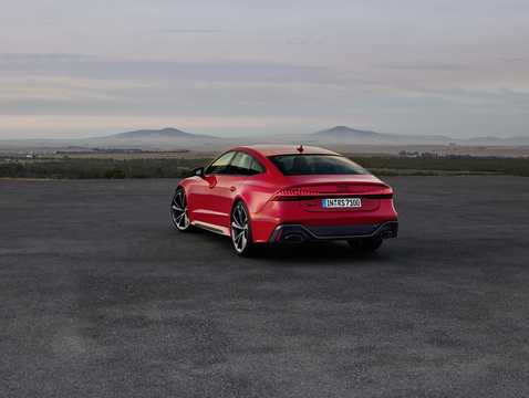 Back/Side of Audi RS 7 Sportback  TipTronic, 600hp, 2020
