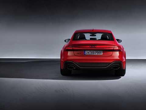 Back of Audi RS 7 Sportback  TipTronic, 600hp, 2020