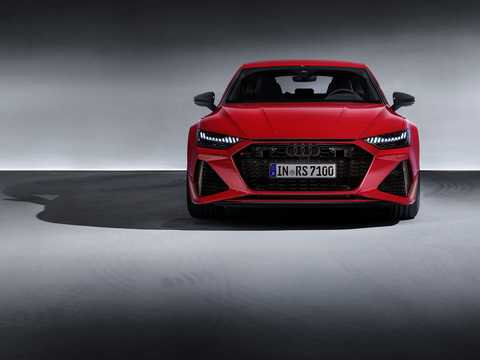 Front  of Audi RS 7 Sportback  TipTronic, 600hp, 2020