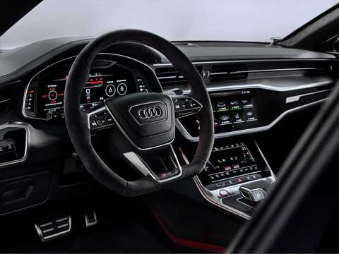 Interior of Audi RS 7 Sportback  TipTronic, 600hp, 2020