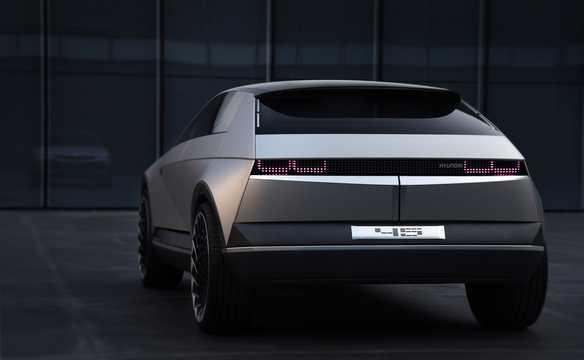 Back/Side of Hyundai 45 EV Concept Concept, 2020