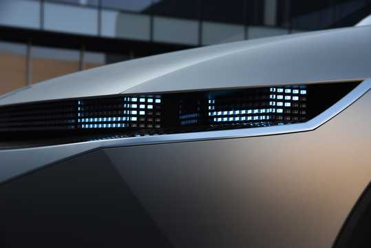 Close-up of Hyundai 45 EV Concept Concept, 2020
