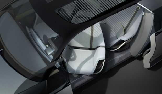 Interior of Hyundai 45 EV Concept Concept, 2020