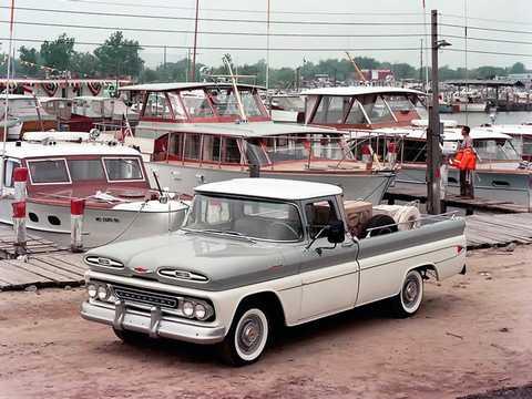Front/Side  of Chevrolet Apache C20 4.6 V8 162hp, 1961