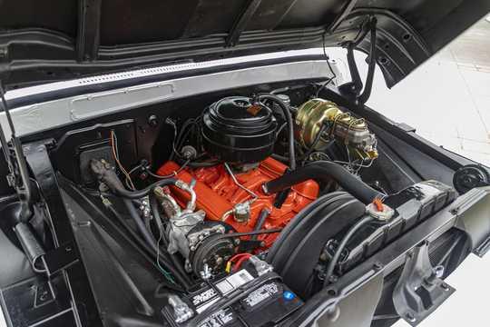 Interior of Chevrolet Apache C10 4.6 V8 162hp, 1961