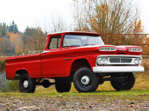 Fram/Sida av Chevrolet Apache K10 4.6 V8 4WD 162hk, 1960