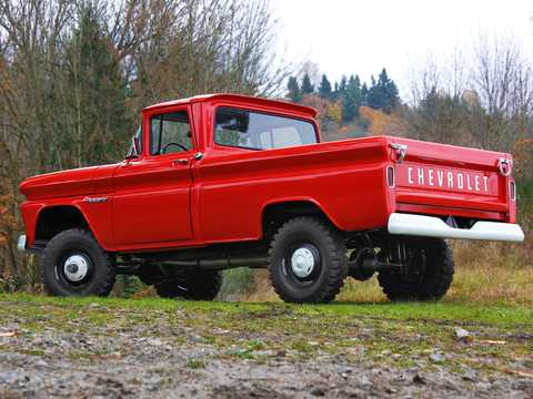Bak/Sida av Chevrolet Apache K10 4.6 V8 4WD 162hk, 1960