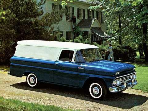 Fram/Sida av Chevrolet C10 Panel 3.9 137hk, 1962