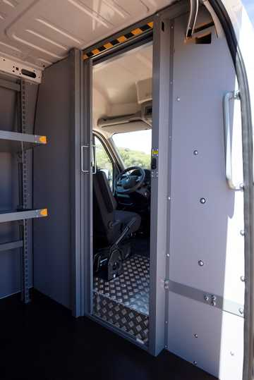 Interior of Renault Master III 2nd Facelift