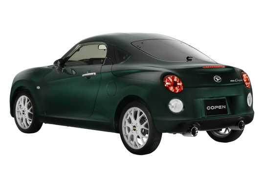 Back/Side of Daihatsu Copen Coupe 2019