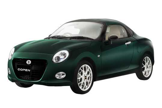 Front/Side  of Daihatsu Copen Coupe 2019