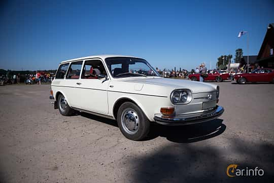 Volkswagen Type 4 1 7 generation 411, Manual, 4-speed