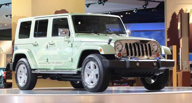 Jeep Concept Electric Concept