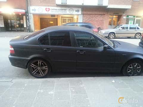 BMW 316i generation E46 Facelift, Manual, 5-speed