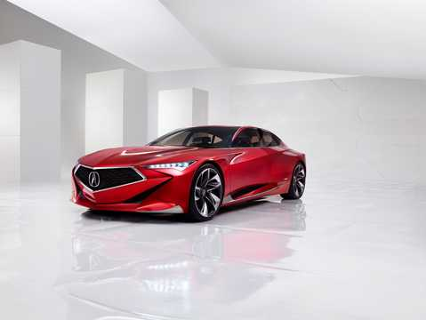 Front/Side  of Acura Precision Concept Concept, 2016