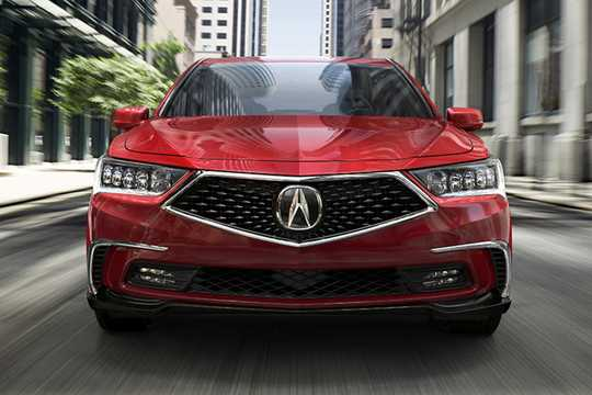 Front  of Acura RLX 2018