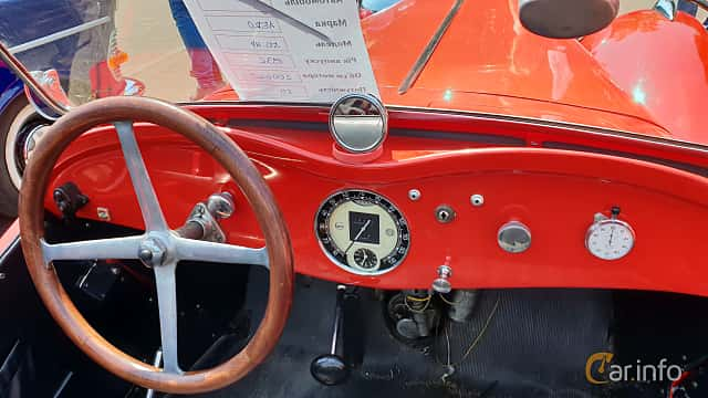 Interior of Aero Type 50 Roadster 2.0 Manual, 46ps, 1936 at Leopolis Grand Prix 2018