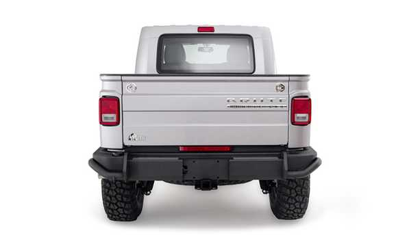 Back of AEV Brute Double Cab 2012