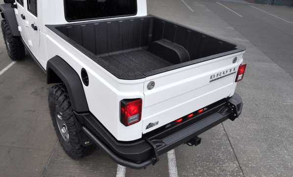 Back/Side of AEV Brute Double Cab 2012