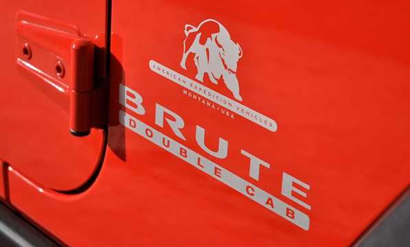 Close-up of AEV Brute Double Cab 2012