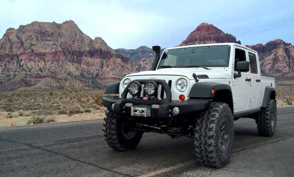 Front/Side  of AEV Brute Double Cab 2012