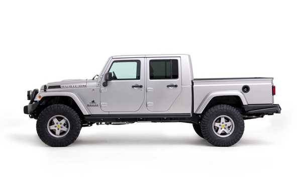 Side  of AEV Brute Double Cab 2012
