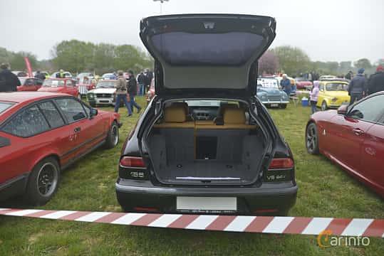 Bak av Alfa Romeo 156 Sportwagon 2.5 V6 Q-System, 190ps, 2002 på Italienska Fordonsträffen - Krapperup 2019