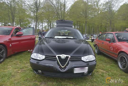 Fram av Alfa Romeo 156 Sportwagon 2.5 V6 Q-System, 190ps, 2002 på Italienska Fordonsträffen - Krapperup 2019