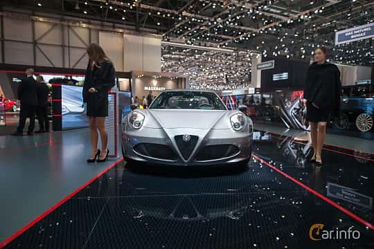 Fram av Alfa Romeo 4C Spider 1.75 TBi DCT, 240ps, 2017 på Geneva Motor Show 2017