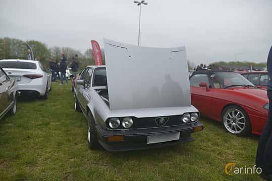 Fram/Sida av Alfa Romeo GTV 2.0 Manual, 130ps, 1984 på Italienska Fordonsträffen - Krapperup 2019