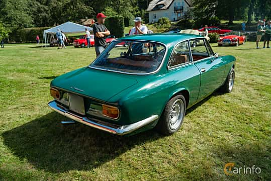Back/Side of Alfa Romeo Giulia 1300 Super 1.3 Manual, 87ps, 1970 at Sportbilsklassiker Stockamöllan 2019