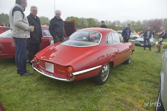 Bak/Sida av Alfa Romeo Giulia SS 1600 1.6 Manual, 106ps, 1963 på Italienska Fordonsträffen - Krapperup 2019