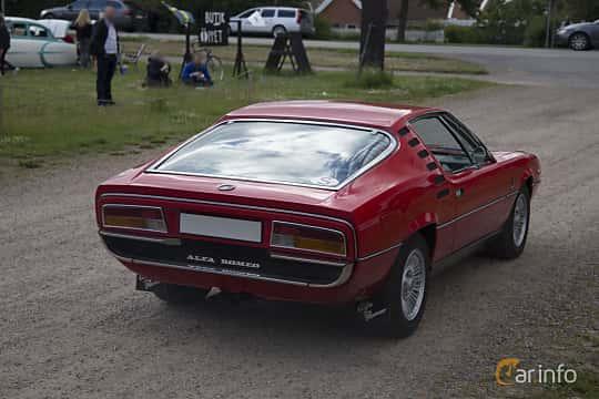 Back/Side of Alfa Romeo Montreal 2.6 V8 Manual, 200ps, 1972 at Tisdagsträffarna Vikingatider v.25 / 2017