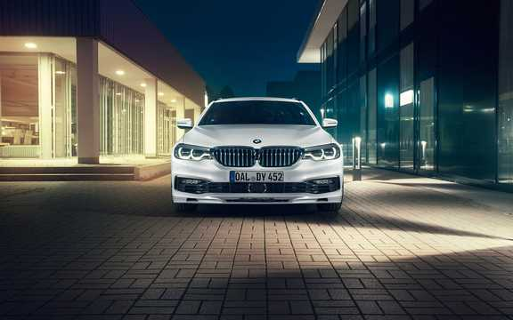 Front  of ALPINA D5 S Touring  Switch-Tronic, 388hp, 2018