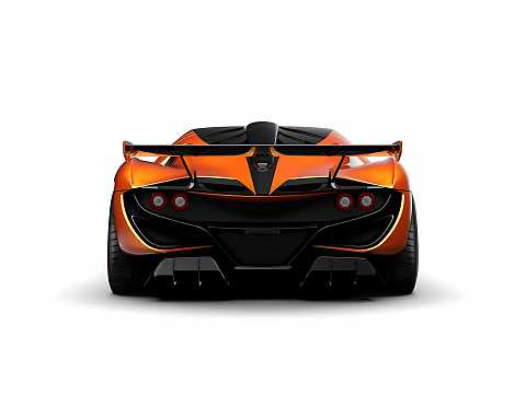 Back of Apollo Arrow 4.0 V8 Sequential, 1000hp, 2016