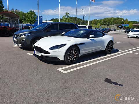 Front/Side  of Aston Martin DB11 4.0 V8 Automatic, 510ps, 2019