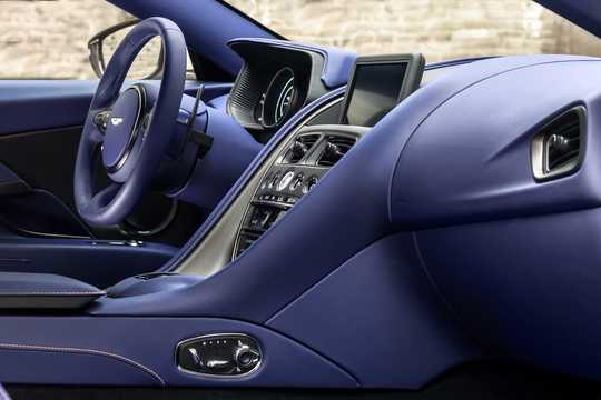 Interior of Aston Martin DB11 4.0 V8 Automatic, 510hp, 2017